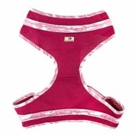 Mossy Oak 24857-10 Mesh Dog Harness, Pink & Camo- Extra Large - 1