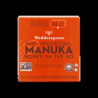 Wedderspoon Raw Monofloral Manuka Honey On The Go Packs - 24 ct / 0.2 oz