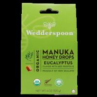 Wedderspoon Organic Eucalyptus Manuka Honey Drops
