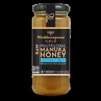 Wedderspoon Gold Raw KFactor 12 100% Manuka Honey - 11.5 oz
