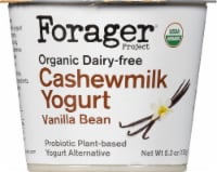 Forager Project Organic Dairy-Free Vanilla Bean Cashewmilk Yogurt Alternative