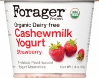 Forager Project Organic Dairy-Free Strawberry Cashewmilk Yogurt Alternative