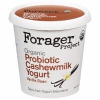 Forager Project Organic Dairy-Free Vanilla Cashewgurt Probiotic Plant-Based Yogurt