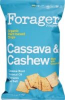 Forager Project Cassava & Cashew Organic Plant-Based Chips