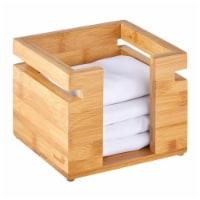 Rosseto SB107 Natura Square Bamboo Napkin Holder