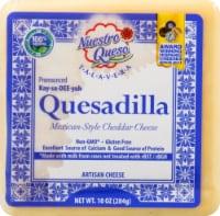 Nuestro Queso Quesadilla Mexican Style Cheddar Cheese