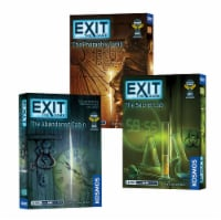 Thames & Kosmos EXIT: The Game Escape Room Season 1 Bundle Board Game Collection - 3 pk