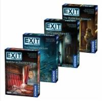 Thames & Kosmos EXIT: The Game Escape Room Season 3 Bundle Board Game Collection - 4 pk