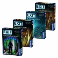 Thames & Kosmos EXIT: The Game Escape Room Beginner Bundle Board Game Collection - 4 pk