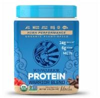 Sunwarrior  Warrior Blend Plant-Based Organic Protein   Mocha - 13.2 oz