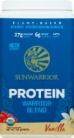Sunwarrior Warrior Blend Plant-Based Vanilla Dietary Supplement Protein Powder - 1.65 lbs
