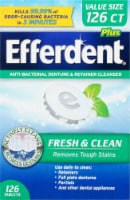 Efferdent Plus Mint Denture Cleanser Tablets