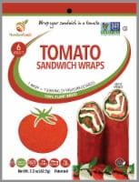 NewGem Foods GemWraps Tomato Sandwich Wraps - 6 ct / 2.2 oz