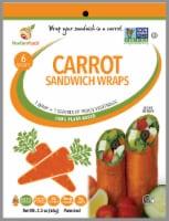 NewGem Foods Carrot Sandwich Wraps - 6 ct / 2.3 oz