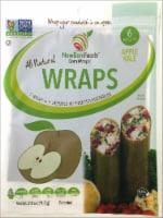 NewGem Foods GemWraps Apple Kale Wraps - 6 ct / 2.5 oz
