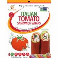NewGem Foods Italian Tomato Sandwich Wraps