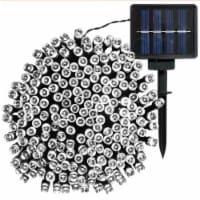 Sunnydaze Outdoor 200-Count White 68' LED Solar-Powered Fairy String Lights - 1 string of solar lights