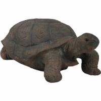 "Sunnydaze Todd the Tortoise Indoor-Outdoor Large Lawn and Garden Statue - 30"" - 1 outdoor tortoise statue"