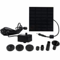 "Sunnydaze Outdoor Submersible Solar Fountain Water Pump Kit - 20"" Lift - 40 GPH - 1 unit(s)"