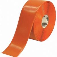 Mighty Line Industrial Floor Tape,Roll,Orange,Vinyl HAWA 4RO