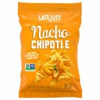 Late July Snacks Organic Nacho Chipotle Tortilla Chips