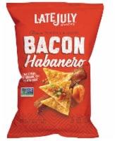 Late July Snacks Organic Bacon Habanero Tortilla Chips - 2.25 oz