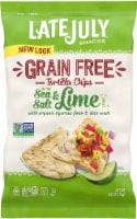Late July Organic Sea Salt & Lime Tigernut Flour Tortilla Chips