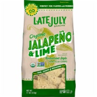 Late July Organic Jalapeno Lime Restaurant Style Tortilla Chips - 11 oz