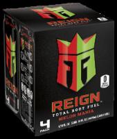 Reign Melon Mania Energy Drinks - 4 cans / 16 fl oz