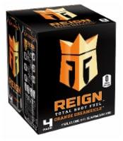 Reign Orange Dreamsicle Energy Drinks - 4 cans / 16 fl oz