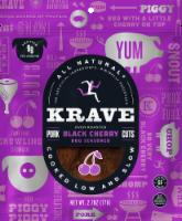 Krave Black Cherry Barbeque Pork Cuts - 2.7 oz