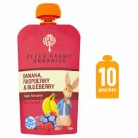 Peter Rabbit Organics Banana Raspberry & Blueberry Puree