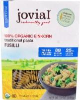 Jovial  100% Organic Einkorn Traditonal Pasta Fusilli