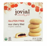 Jovial  Organic Fruit Filled Cookies Gluten Free   Sour Cherry