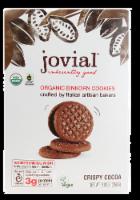 Jovial Organic Crispy Cocoa Einkorn Cookies