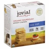 Jovial Organic Sourdough Einkorn Crackers Sea Salt