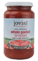 Jovial Organic Tomatoes Whole Peeled