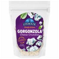 Litehouse Simply Artisan Gorgonzola Cheese Crumbles