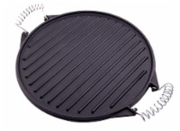 Victoria Wire Handles Cast Iron Round Reversible Griddle
