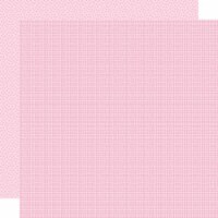 Bella Besties Graph/Dot Double-Sided Cardstock 12 X12 -Cotton Candy - 1