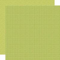 Bella Besties Graph/Dot Double-Sided Cardstock 12 X12 -Pickle Juice - 1
