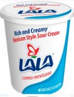 LaLa Mexican Style Sour Cream - 24 oz