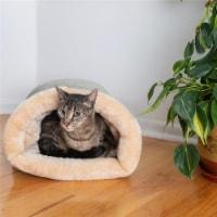 Aeromark C15HHL-MH Armarkat Pet Bed Cat Bed 22 x 10 x 14 - Sage Green & Beige - 1