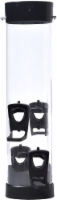 Stokes Select 4-Port Plastic Bird Feeder - Black - 1 ct