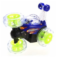 AZImport MC32 Blue Invincible Twister - Remote Control Car with Flashing Lights - 1