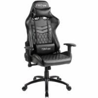 RTA Products RTATS51 Techni Sport Ergonomic Gaming Chair - Black - 1