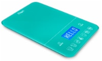 Ozeri Touch III 22 lbs (10 kg) Digital Kitchen Scale with Calorie Counter, in Tempered Glass - 1