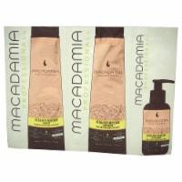 Macadamia Oil Professional Ultra Rich Moisture Set 0.34oz Shampoo, 0.34oz Conditioner, 0.17oz - 3 Pc Kit