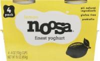 Noosa Lemon Yoghurt - 4 ct / 4 oz