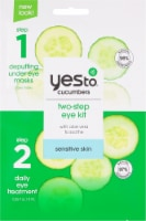 Yes To Cucumbers Soothing 2-Step Single Use Eye Kit